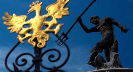 Neptunfontenen i Gdansk. Med tillatelse fra ©Polens-Turistkontor
